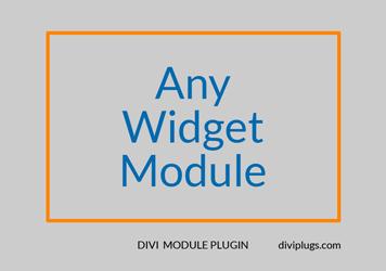 Any Widget