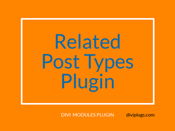 Related Post Types